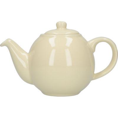 London Pottery Globe 2-Cup Teapot Ivory