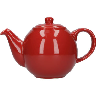 London Pottery Globe 2-Cup Teapot Red