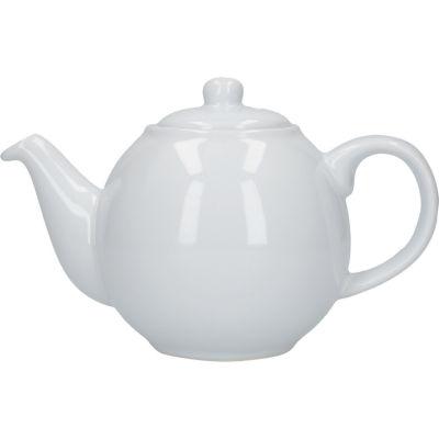 London Pottery Globe 2-Cup Teapot White