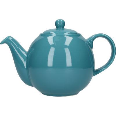 London Pottery Globe 4-Cup Teapot Aqua Blue