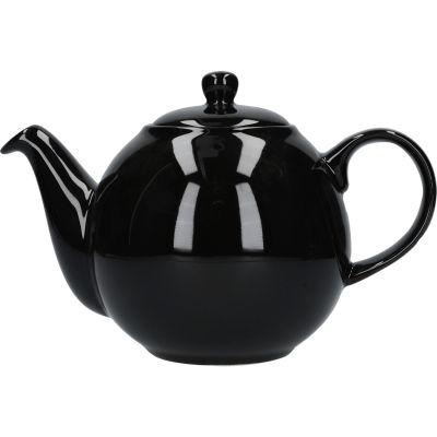 London Pottery Globe 4-Cup Teapot Gloss Black