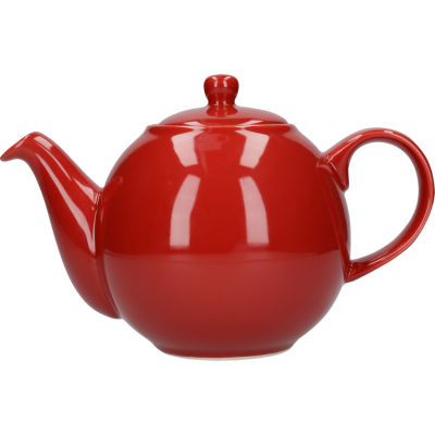 London Pottery Globe 4-Cup Teapot Red