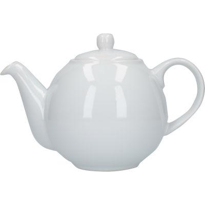 London Pottery Globe 4-Cup Teapot White