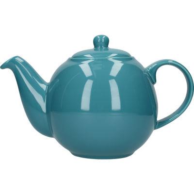 London Pottery Globe 6-Cup Teapot Aqua Blue