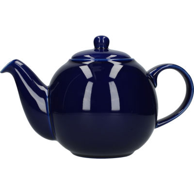 London Pottery Globe 6-Cup Teapot Cobalt Blue