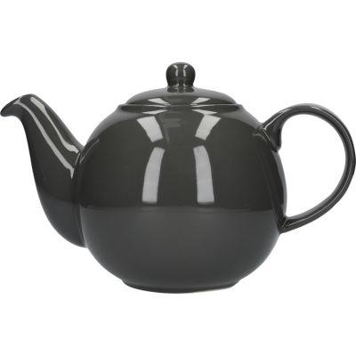 London Pottery Globe 6-Cup Teapot Grey