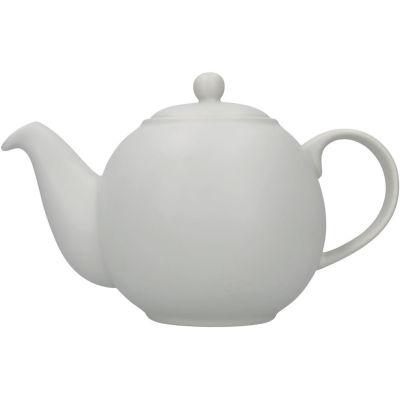 London Pottery Globe 6-Cup Teapot Nordic Grey