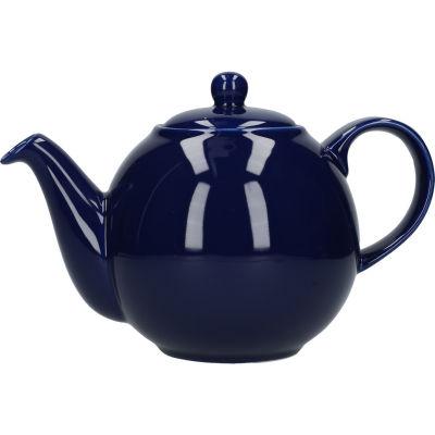 London Pottery Globe 8-Cup Teapot Cobalt Blue