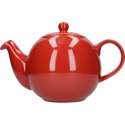 London Pottery Globe 8-Cup Teapot Red