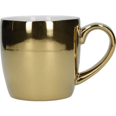 London Pottery Globe Mug Gold Finish