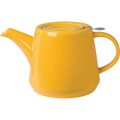London Pottery Hi-T Filter 2-Cup Hi-T Filter Teapot Honey Yellow