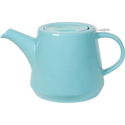 London Pottery Hi-T Filter 2-Cup Hi-T Filter Teapot Splash Blue