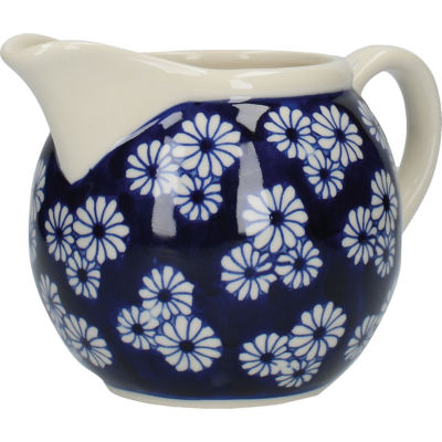 London Pottery Out Of The Blue Cream Jug & Sugar Basin Set Of 2 Daisies