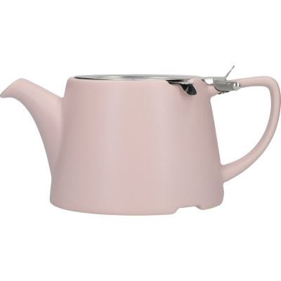 London Pottery Oval Filter 3-Cup Oval Filter Teapot Satin Pink