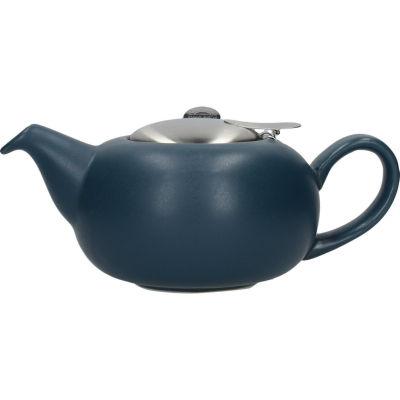 London Pottery Pebble Filter 2-Cup Teapot Matt Slate Blue