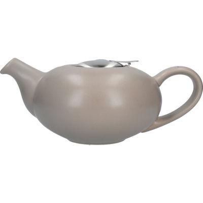 London Pottery Pebble Filter 4-Cup Teapot Matt Putty