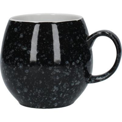 London Pottery Pebble Filter Mug Pebble Gloss Flecked Black