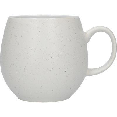 London Pottery Pebble Filter Mug Pebble Matt Speckled White