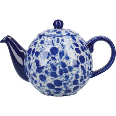 London Pottery Splash 2-Cup Teapot Splash Blue