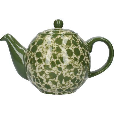 London Pottery Splash 2-Cup Teapot Splash Green