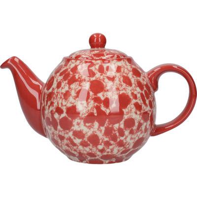 London Pottery Splash 2-Cup Teapot Splash Red