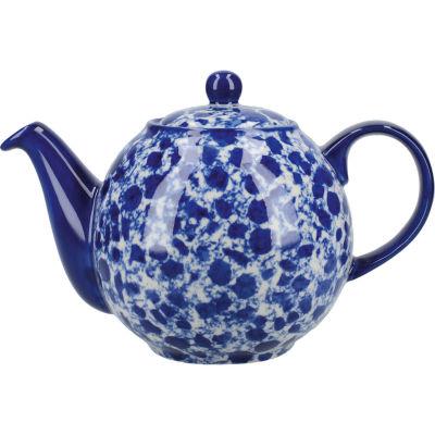 London Pottery Splash 4-Cup Teapot Splash Blue