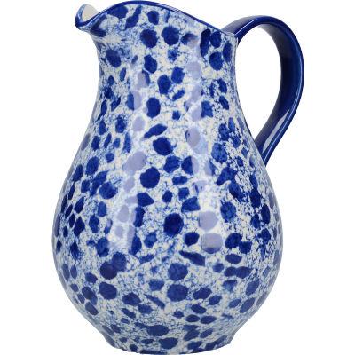 London Pottery Splash Jug Large Splash Blue