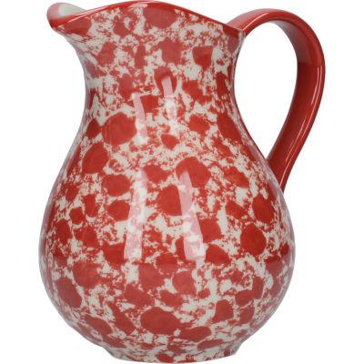 London Pottery Splash Jug Medium Splash Red