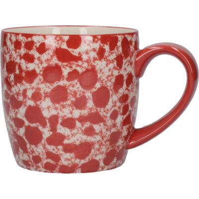 London Pottery Splash Mug Splash Red