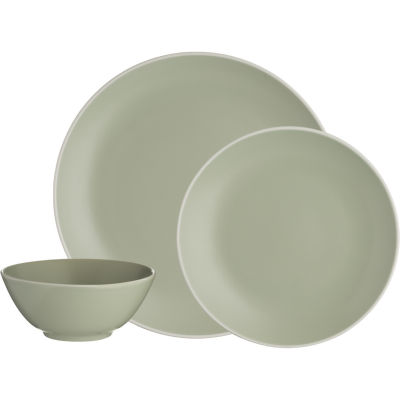 Mason Cash Classic Collection Classic Green 12 Piece Dinner Set