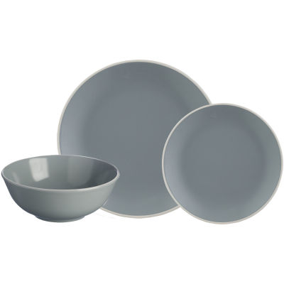 Mason Cash Classic Collection Classic Grey 12 Piece Dinner Set