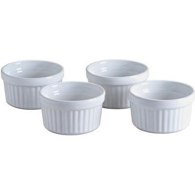 Mason Cash Classic White Cookware Ramekin Set of 4