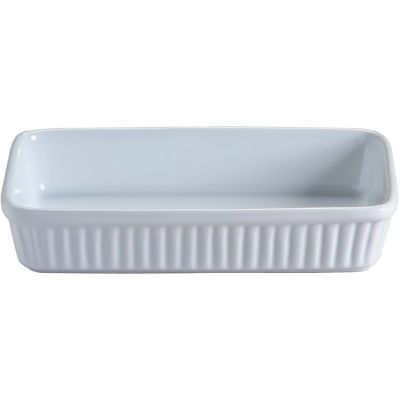 Mason Cash Classic White Cookware Rectangular Roasting Dish 23cm