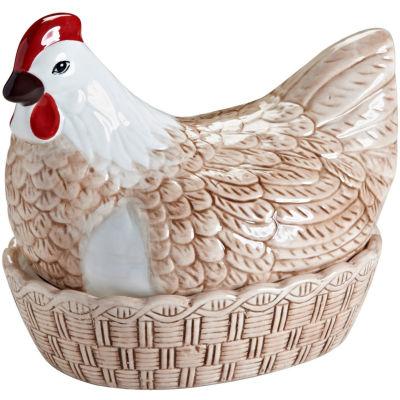 Mason Cash Home Baking Rise & Shine Hen Nest Egg Holder