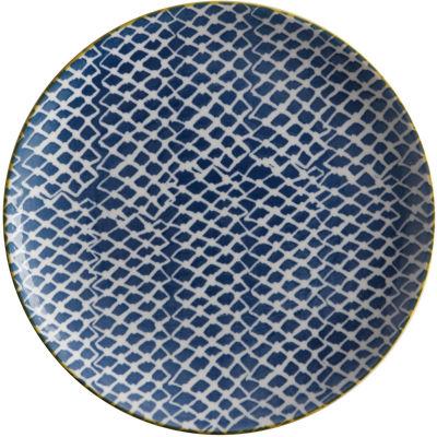 Maxwell & Williams Laguna Side Plate Woven Blue
