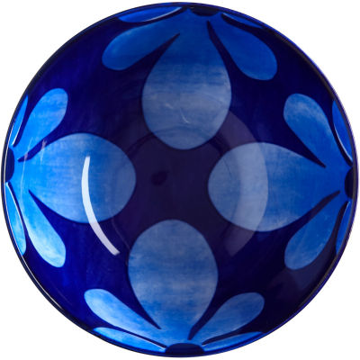Maxwell & Williams Majolica Rice Bowl 12.5cm Ink Blue