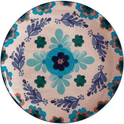 Maxwell & Williams Majolica Round Serving Platter 36.5cm Peach
