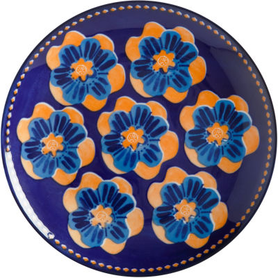 Maxwell & Williams Majolica Side Plate 20cm Ink Blue
