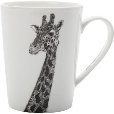 Maxwell & Williams Marini Ferlazzo Mug Tall Monochrome Giraffe