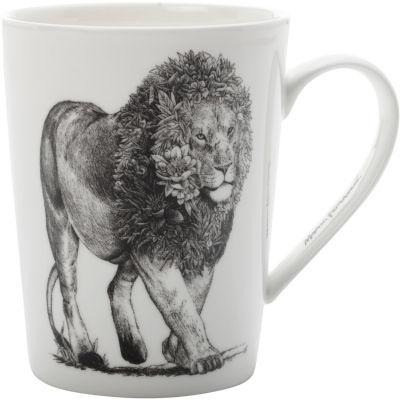 Maxwell & Williams Marini Ferlazzo Mug Tall Monochrome Lion