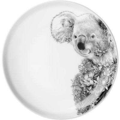 Maxwell & Williams Marini Ferlazzo Plate 20cm Monochrome Koala