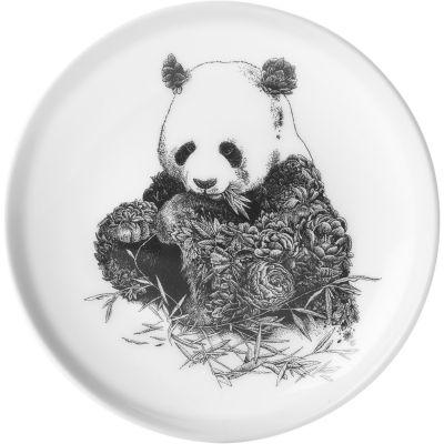 Maxwell & Williams Marini Ferlazzo Plate 20cm Monochrome Panda