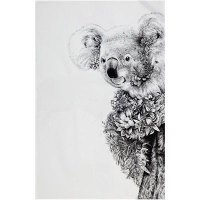 Maxwell & Williams Marini Ferlazzo Tea Towel Monochrome Koala