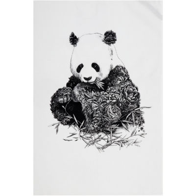 Maxwell & Williams Marini Ferlazzo Tea Towel Monochrome Panda
