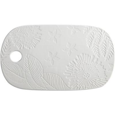 Maxwell & Williams Panama Oblong Cheese Platter 40cm White