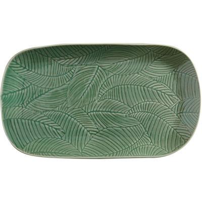 Maxwell & Williams Panama Oblong Platter 34cm Kiwi