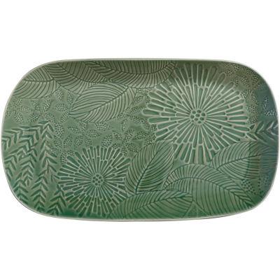 Maxwell & Williams Panama Oblong Platter 39cm Kiwi