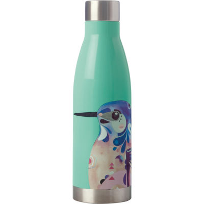 Maxwell & Williams Pete Cromer Insulated Bottle 0.5L Kingfisher