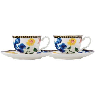 Maxwell & Williams Teas & Cs Contessa Espresso Cup & Saucer Set of 2 White