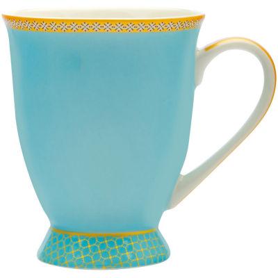 Maxwell & Williams Teas & Cs Kasbah Footed Mug Turquoise